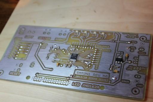 Solder SMT parts
