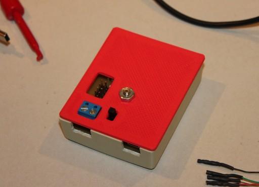 Custom box cover made with a 3D printer