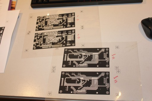 Print two sets of mask (top and bottom)