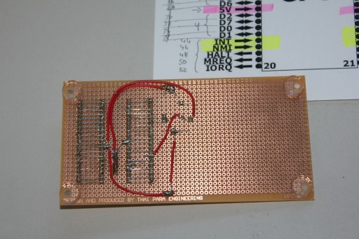 Bottom side of the Z80 dongle