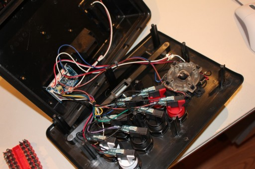 iCade Core box gutted