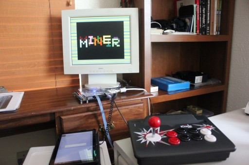 Manic Miner loads using PlayTZX